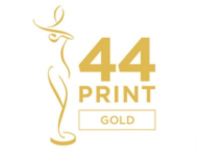 Gold win at the 44th Creativity International Awards