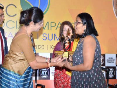 Indian Chamber of Commerce - Social Impact Awards 2020